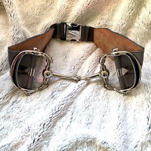 Authentic Gucci horsebit Belt